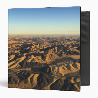 Walla Walla wine country from aloft 3 Ring Binder