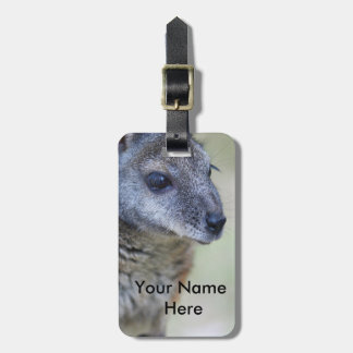 Wallaby Luggage tag