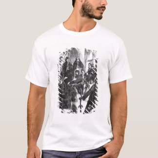 Wallace Crowned with Laurel in Westminster Hall T-Shirt