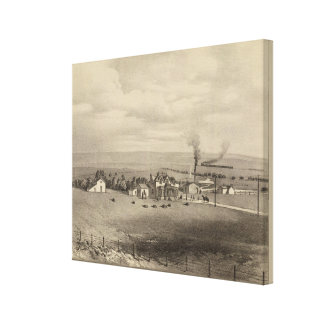 Wallace Kansas Gallery Wrapped Canvas