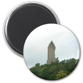 Wallace Monument 2 Inch Round Magnet