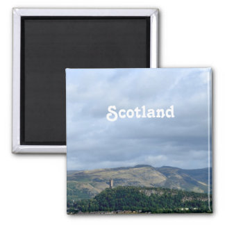 Wallace Monument Square Magnet