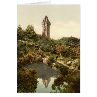 Wallace Monument, Stirling, Scotland Card