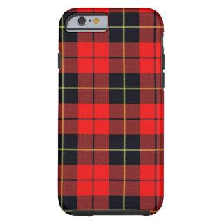 Wallace plaid iPhone 6 case Tough case