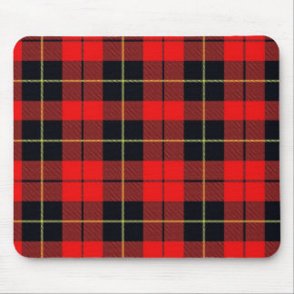 Wallace plaid mouse pad