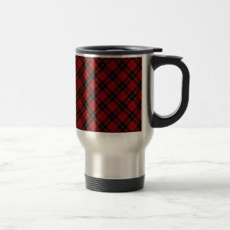 Wallace Scottish Clan Tartan Design Travel Mug
