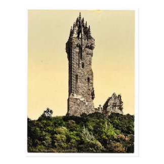 Wallace Statue I, Stirling, Scotland classic Photo Postcard