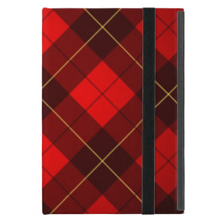 Wallace tartan background iPad mini cover
