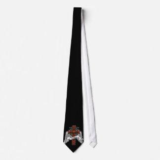 Wallace Tartan Cross Tie