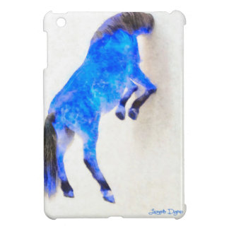Walled Blue Horse Case For The iPad Mini