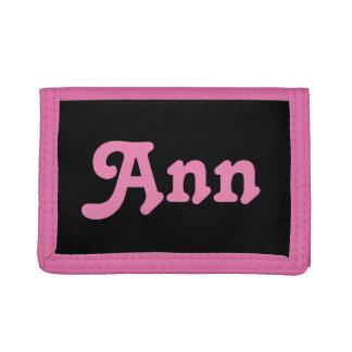 Wallet Ann