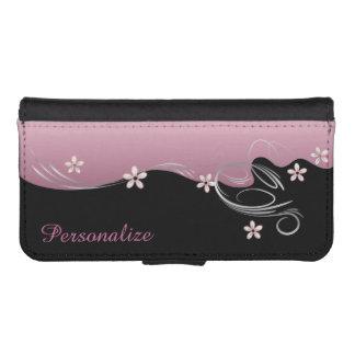 Wallet Case - Floral Florid Pink Tourmaline Design