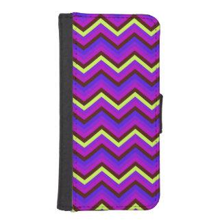 Wallet Case iPhone 5s Zig Zag Chevron Pattern Phone Wallet Cases