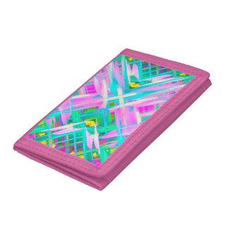 Wallet Colorful digital art splashing G473