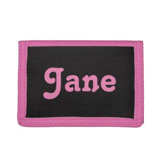 Wallet Jane