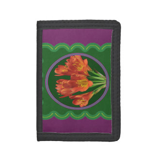 Wallet TriFold choose Nylon Denim or Leather gifts
