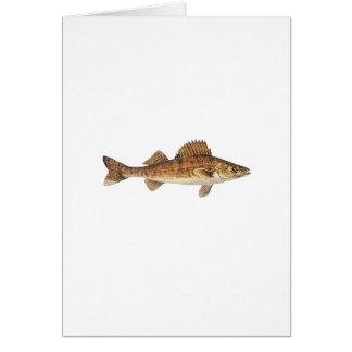 Walleye Art Card