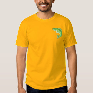 Walleye Embroidered T-Shirt