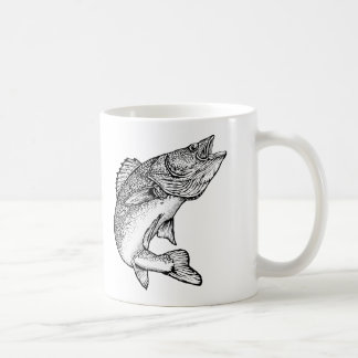 Walleye Fish Coffee Mug