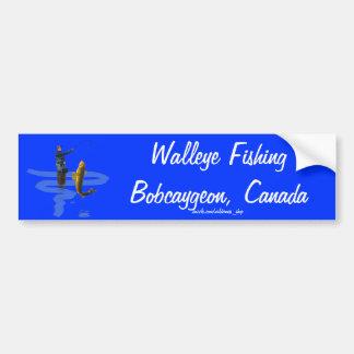 Walleye Fishing Outdoor Fisherman's Sporting Gift Bumper Sticker