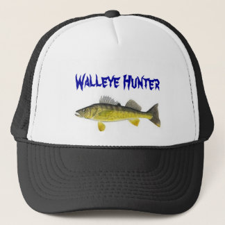 Walleye Hunter Trucker Hat