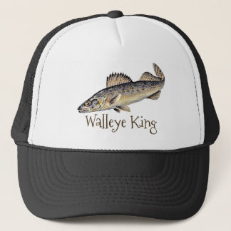 """Walleye King"" Trucker Hat"