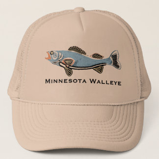 Walleye Trucker Hat