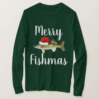 Walleye Ugly Christmas T-Shirt