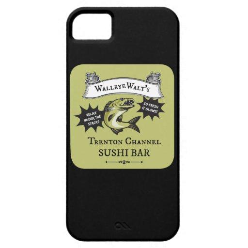 Walleye Walt's Trenton Channel Sushi Bar iPhone 5/5S Covers