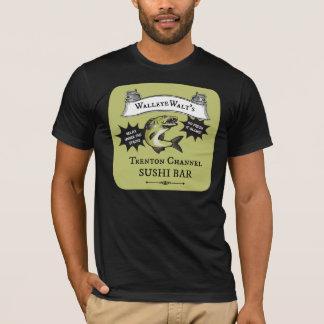 Walleye Walt's Trenton Channel Sushi Bar T-Shirt