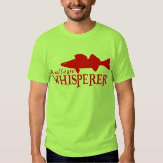 WALLEYE WHISPERER TEE SHIRT