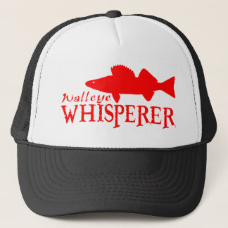 WALLEYE WHISPERER TRUCKER HAT