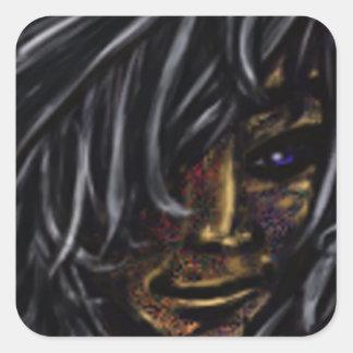Wallflower Ghost Boy Sticker