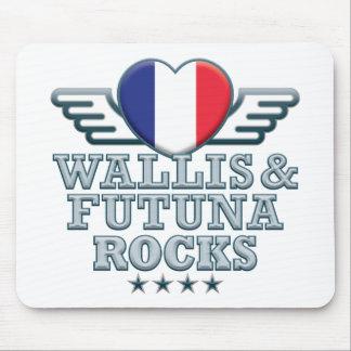 Wallis and Futuna Rocks v2 Mouse Pad
