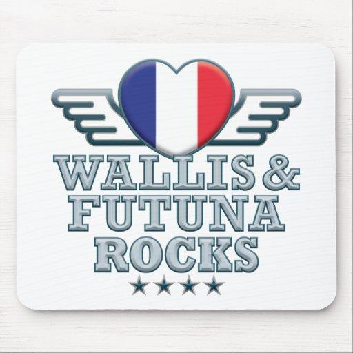 Wallis and Futuna Rocks v2 Mouse Pads