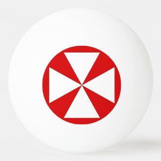 Wallis Island Flag Ping-Pong Ball