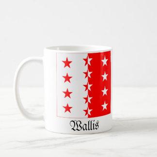 Wallis, Schweiz Fahnen Flags Coffee Mug