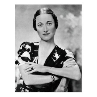 Wallis Simpson Postcard