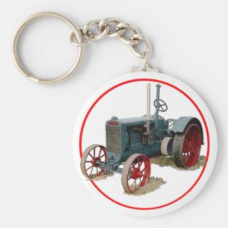 Wallis Tractor Keychain