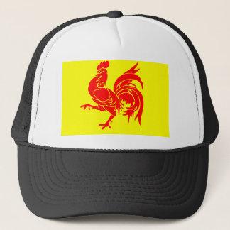 Wallon Rooster Trucker Hat