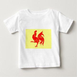 Walloon (Belgium) Flag - Drapea Walon Baby T-Shirt