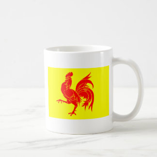Walloon (Belgium) Flag - Drapea Walon Coffee Mug