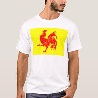 Walloon (Belgium) Flag - Drapea Walon T-Shirt
