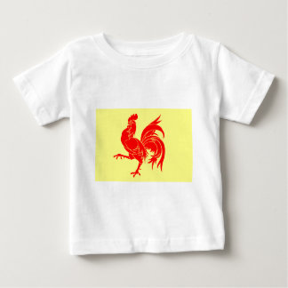 Walloon (Belgium) Flag - Drapeau de la Wallonie Baby T-Shirt