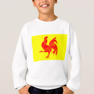 Walloon (Belgium) Flag - Drapeau de la Wallonie Sweatshirt