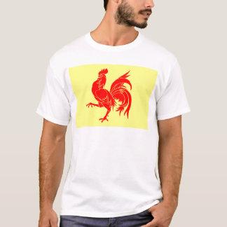 Walloon (Belgium) Flag - Drapeau de la Wallonie T-Shirt