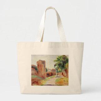 Walls in Spain by Pierre-Auguste Renoir Large Tote Bag