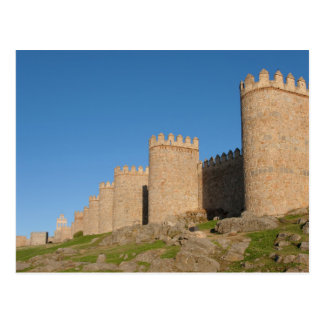 Walls of Avila Postcard