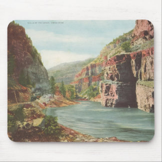 Walls of the Canon, Grand River (Canyon) Mouse Pad