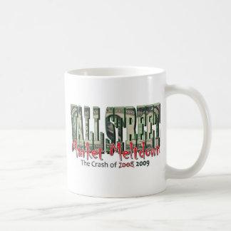 WallStreet Market Meltdown Coffee Mug